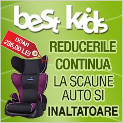Best Kids - Reduceri la scaunele auto