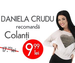 Daniela Crudu, haine recomendada